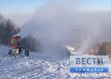 在滨海边疆区开始山地滑雪运动季节