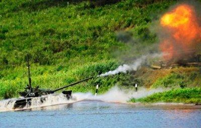 在滨海边疆区东方军区出现新的无线电控制靶