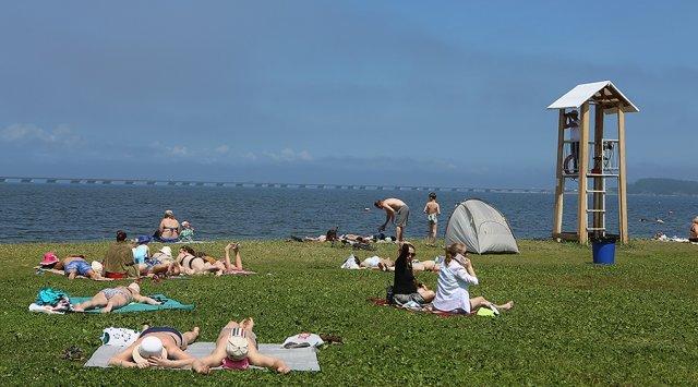 在符拉迪沃斯托克出现了一个世界级的海滩。