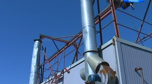 模块化锅炉不间断地为滨海边疆区供暖