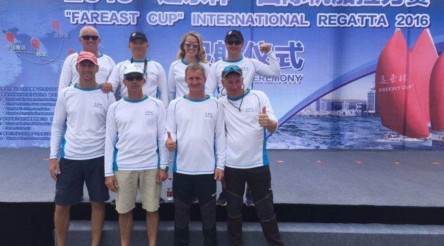 """符拉迪沃斯托克的船员成为了""""远东杯""""国际帆船拉力赛的获胜者"""