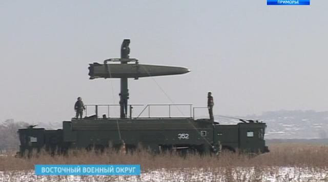 在滨海边疆区试验一种强力的导弹系统