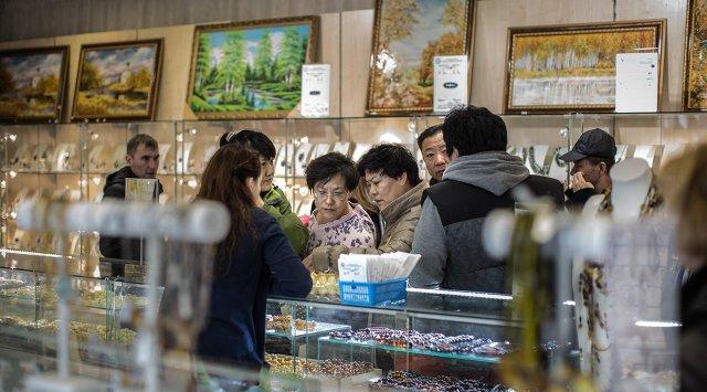 上半年中国游客在俄消费17亿美元