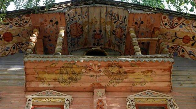 超经典的俄式木屋,快来感受下 !