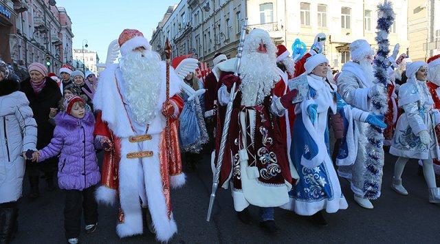 符拉迪沃斯托克将进行严寒老人的游行