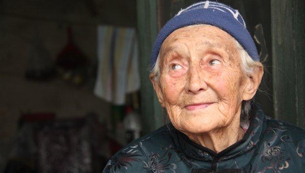 91岁俄罗斯老太嫁来中国84年 17岁情定山东