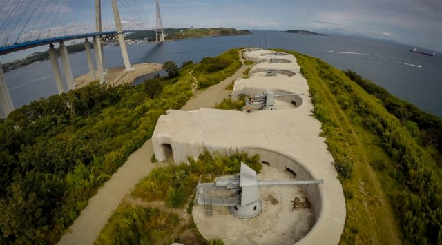 俄罗斯滨海地区名胜古迹 - 诺沃西里采夫炮台