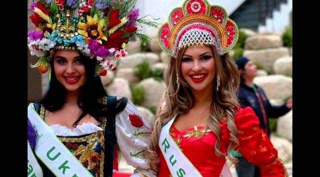 俄罗斯人与乌克兰人长相上有什么区别?
