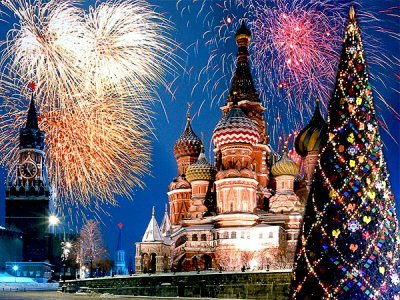 俄罗斯过年的习俗与中国的差别!
