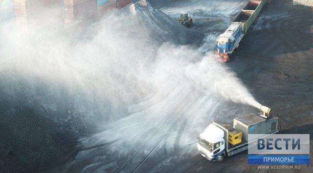 纳霍德卡市减少煤炭转运