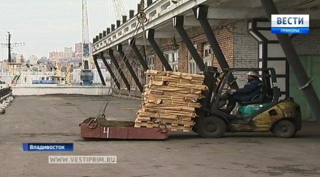 符拉迪沃斯托克港口停止煤炭转运,成为渔港