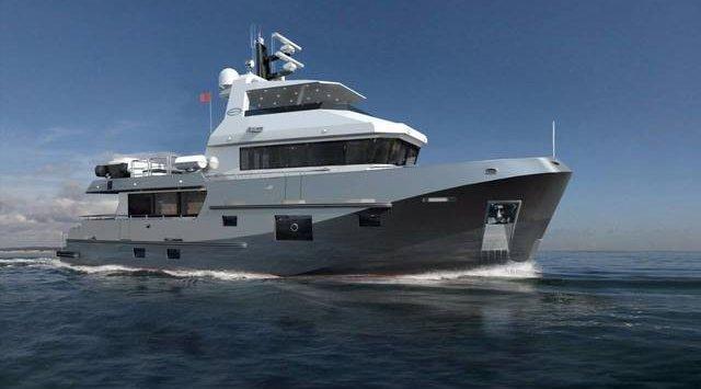 符拉迪沃斯托克市销售乘豪华游艇,价格是220,000,000卢布