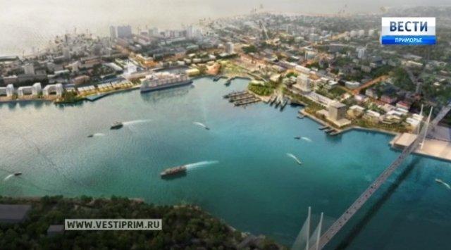 日本人提出了符拉迪沃斯托克市全球重建项目