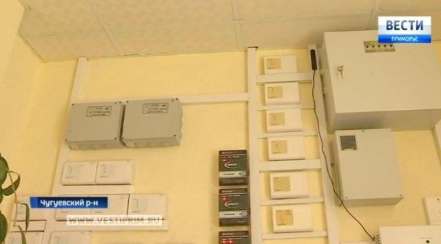 为了控制消防安全,滨海边疆区学校开始使用卫星设备