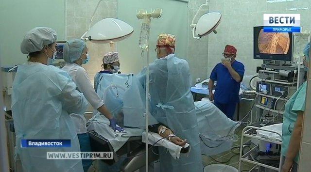 符拉迪沃斯托克医院收到治疗女性疾病的独特技术设备