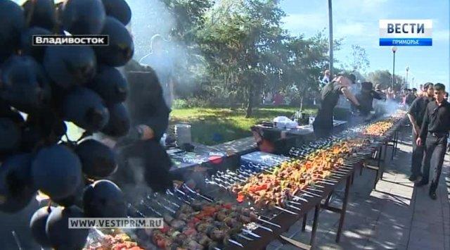 滨海边疆区格鲁吉亚侨民准备庆祝该地区成立80周年