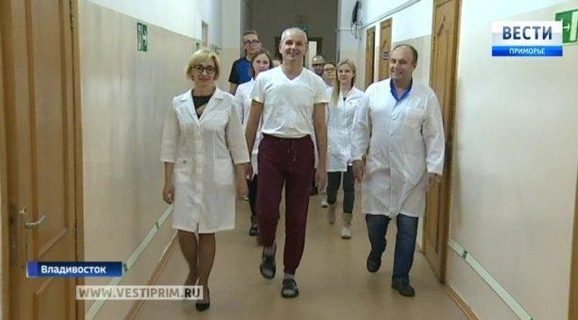 在符拉迪沃斯托克进行独特的神经外科手术
