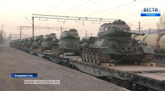 老挝国防部向俄罗斯献了30辆T-34坦克