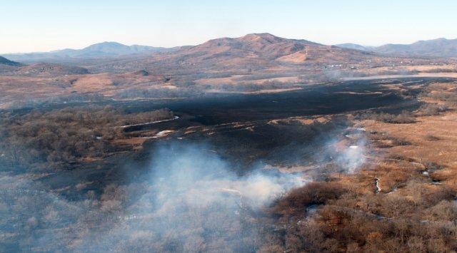 今年最大的火灾几乎摧毁了班布罗沃村